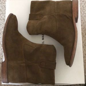Isabel Marant Crisi suede boots brown size 36